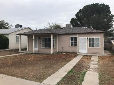 El Paso Single Family Home For Sale: 4404 Leeds Avenue