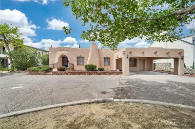 El Paso Single Family Home For Sale: 1117 Kerbey Avenue