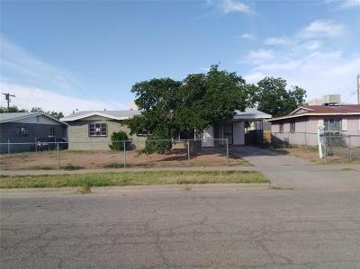 El Paso Single Family Home For Sale: 9209 Waverly Drive