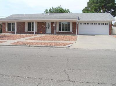 El Paso Single Family Home For Sale: 8509 Catalpa Lane