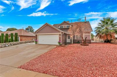 El Paso Single Family Home For Sale: 613 Woodcrest Lane