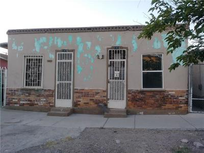El Paso Multi Family Home For Sale: 1914 & 1916 & 1912 Olive Avenue #3