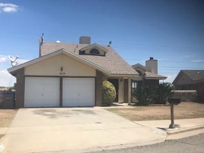 Single Family Home For Sale: 4629 George Patton Lane