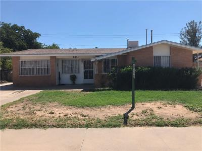El Paso Single Family Home For Sale: 8031 Jersey Street