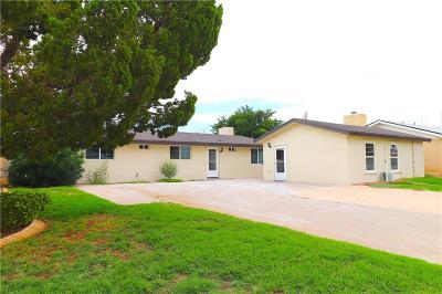 El Paso Single Family Home For Sale: 2809 Fir Street