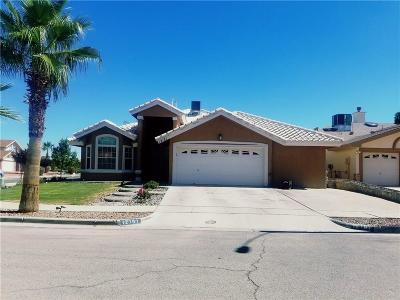El Paso Single Family Home For Sale: 12181 Dos Rios Drive