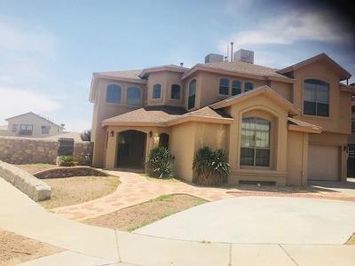Horizon City Single Family Home For Sale: 12398 Paseo Nuevo Drive
