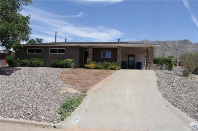 El Paso Single Family Home For Sale: 5900 Parkmont Place