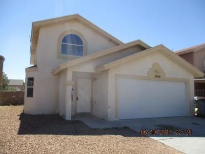 Single Family Home For Sale: 3808 Tierra Zafiro Drive
