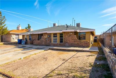 El Paso Condo/Townhouse For Sale: 908 Destello Road