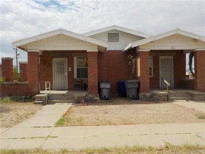 El Paso Single Family Home For Sale: 3800-3802 La Luz Avenue