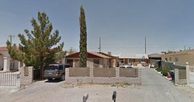 Canutillo Single Family Home For Sale: 821 Zinn Road