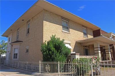 El Paso Multi Family Home For Sale: 1101 E. Rio Grande #6
