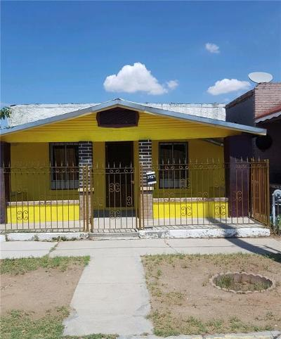 El Paso Single Family Home For Sale: 3819 Findley Avenue