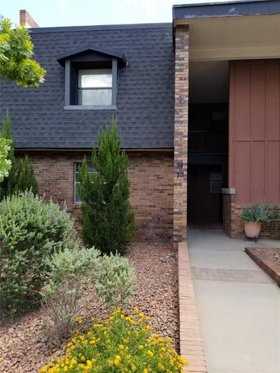 El Paso Condo/Townhouse For Sale