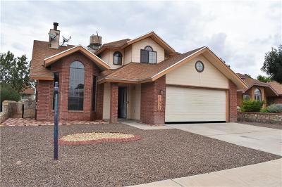 Vista Hills Single Family Home For Sale: 11937 McAuliffe Drive
