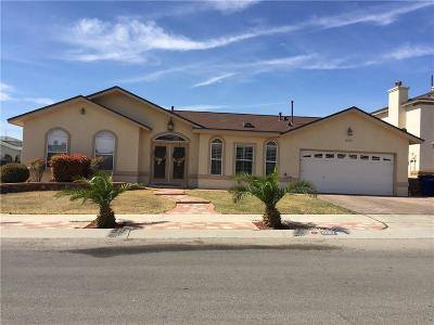 El Paso Single Family Home For Sale: 1257 Rosa Guerrero