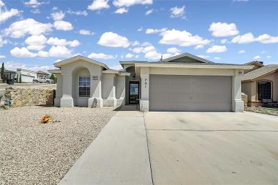 Anthony Single Family Home For Sale: 701 Fatima
