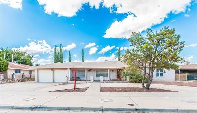 El Paso Single Family Home Active With Contingency: 10409 Byway Drive