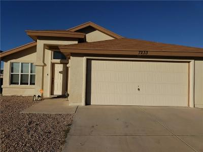 Single Family Home For Sale: 7233 Copper Nail Lane
