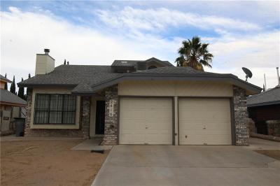 Vista Hills Single Family Home For Sale: 2416 John Cox Place