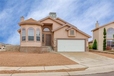 El Paso TX Single Family Home For Sale: $154,950