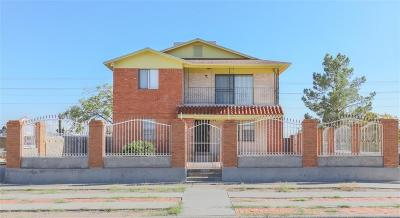 El Paso Single Family Home For Sale: 3200 Frankfort Avenue