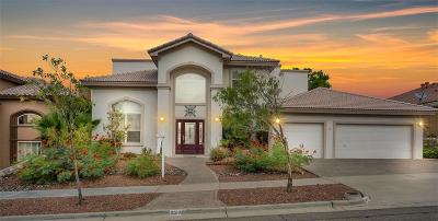 El Paso Single Family Home Active with Contingency: 6513 Eagle Ridge Drive