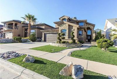 El Paso Single Family Home For Sale: 7323 Corona Del Sol Drive