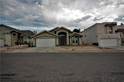 Canutillo Single Family Home For Sale: 432 Millstone Court