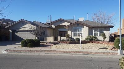 El Paso Single Family Home For Sale: 1345 Rancho Grande Drive