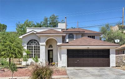Single Family Home For Sale: 6845 Canyon View Lane