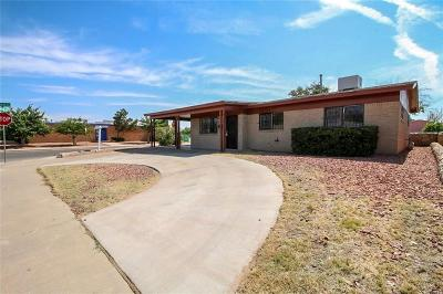 El Paso Single Family Home For Sale: 9332 Raleigh Drive