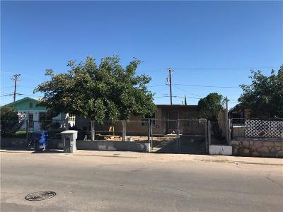 El Paso Single Family Home For Sale: 7407 Mimosa Avenue