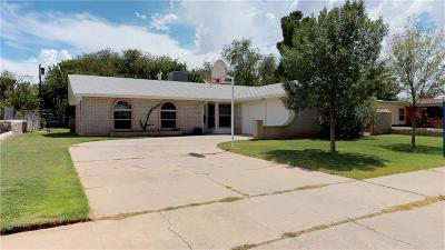 El Paso Single Family Home For Sale: 412 Benedict Road