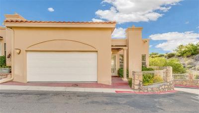 El Paso Single Family Home For Sale: 5919 Bandolero Drive #H