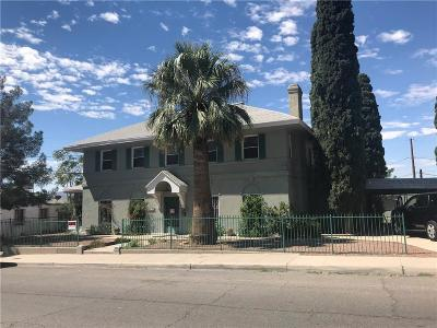 El Paso Single Family Home For Sale: 519 Porfirio Diaz Street