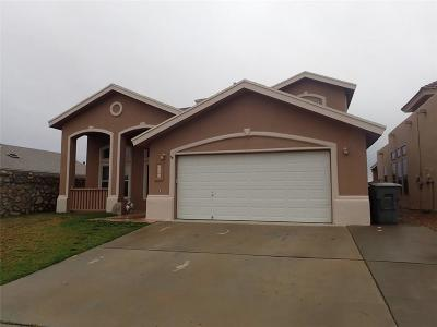 El Paso TX Single Family Home For Sale: $209,000