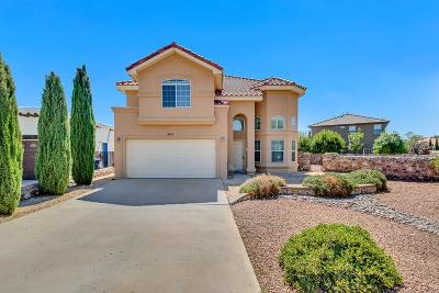 El Paso Single Family Home For Sale: 304 Corte Rimini