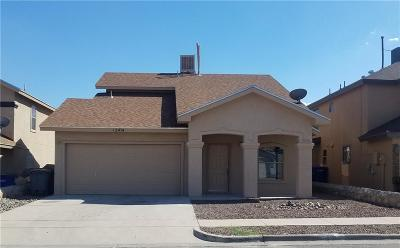 El Paso TX Single Family Home For Sale: $132,000