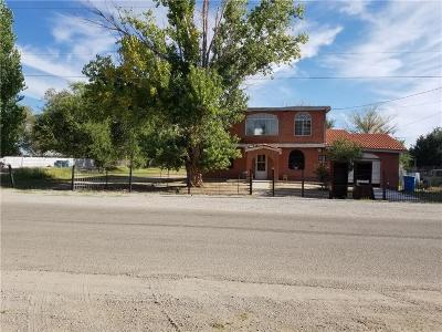 Fabens Single Family Home For Sale: 624 De Vargas Ave.