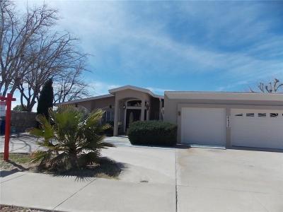 El Paso Single Family Home For Sale: 6430 Dawn Drive