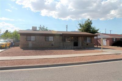El Paso Single Family Home For Sale: 9109 Duval Street