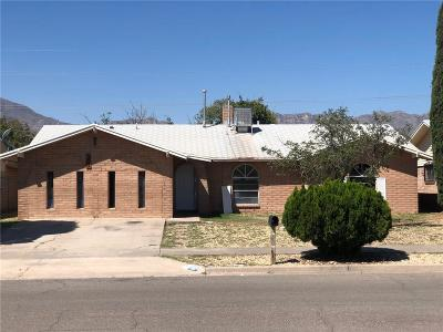 El Paso Single Family Home For Sale: 10725 Fort Worth Street