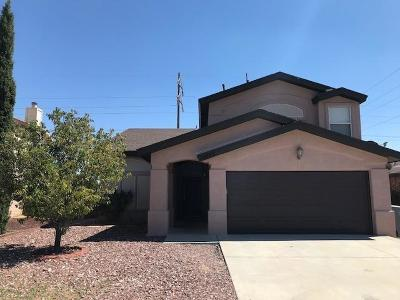 El Paso Single Family Home For Sale: 10872 Reef Sands Drive