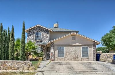 El Paso Single Family Home For Sale: 2923 Royal Knoll Drive