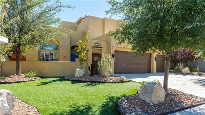 El Paso Single Family Home For Sale: 12200 Sitting Bull Drive