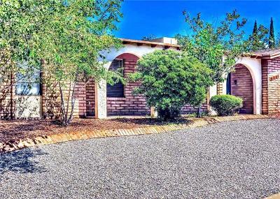 El Paso Single Family Home For Sale: 6801 Granero Drive