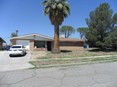 El Paso Single Family Home For Sale: 450 De Soto Avenue