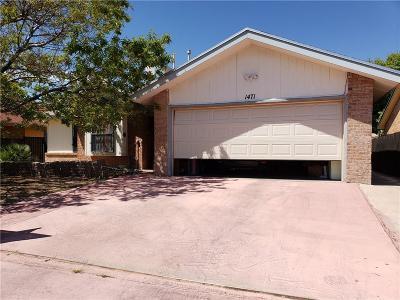 Single Family Home For Sale: 1471 Sierra De Oro Drive